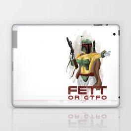 Fett or GTFO Laptop & iPad Skin