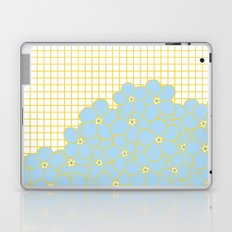 Forget Me Knot Gold Grid Laptop & iPad Skin
