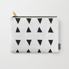 Almada - black on white Carry-All Pouch