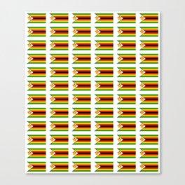 Flag of zimbabwe -Zimbabwe,Zimbabwean,Zimbo,harare,Bulawayo Canvas Print