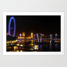 The Thames View Art Print