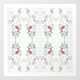 Summer Rosy Chain Art Print