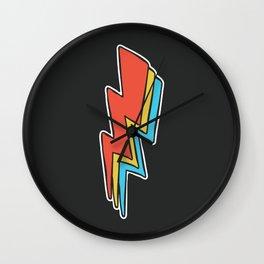 Rock Lightning Wall Clock