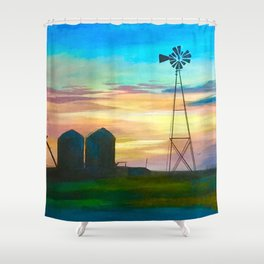 Amarillo by Morning Shower Curtain