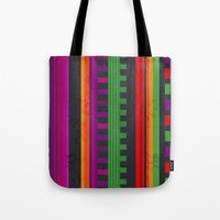mexican Tote Bags featuring Mexican Pattern by rusanovska