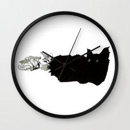 Tiny Kitties Wall Clock