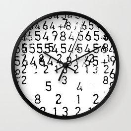 NUMÉRIQUE *1 Wall Clock