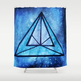 Into the Abyss II Shower Curtain