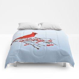 AFE Red Cardinal Comforters