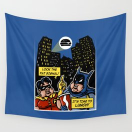 Fatman and Big Belly Wall Tapestry