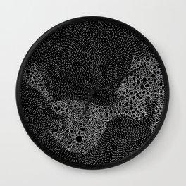 the mole's hyperacidity | black Wall Clock