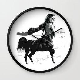 Brigitte Bardot Sagittarius  Wall Clock