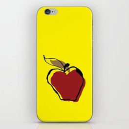 Apple for Teacher iPhone Skin