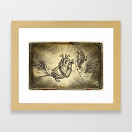 """Stay Strong, Stay True"" Framed Art Print"