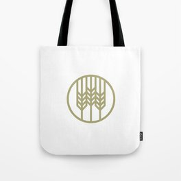 Wheat Circle Graphic Tote Bag