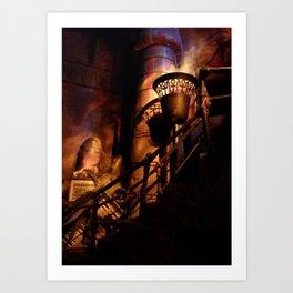 HOLLYWOOD STUDIOS: Great Movie Ride (2) Art Print