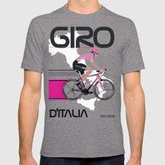 GIRO D'ITALIA Tri-Grey LARGE Mens Fitted Tee