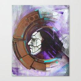 Digital Native - face Canvas Print
