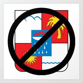 Boycott Sochi Art Print