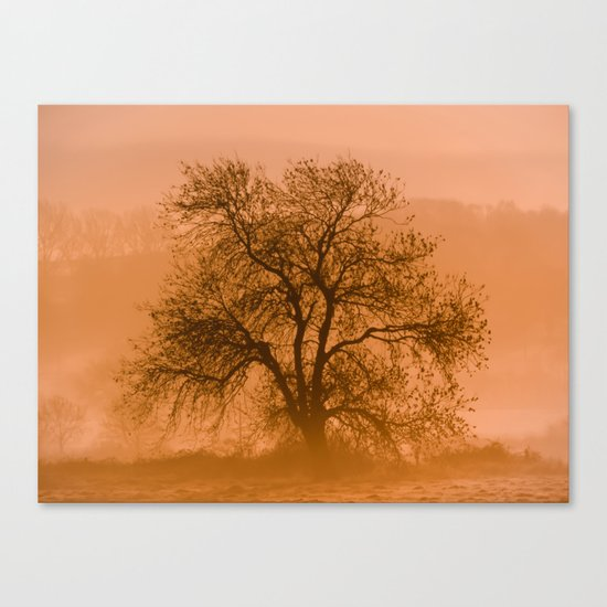 The Promise of Dawn Canvas Print