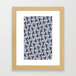 WTU PATTERN PRINT Framed Art Print