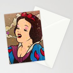 Snow White Girl Stationery Cards