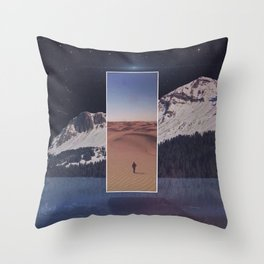 'Ethos of Ethereal'  Throw Pillow
