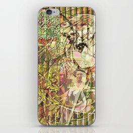 Jeune fille de joie usine (Factory girl joy) iPhone Skin