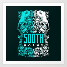 THE SOOTHSAYER Art Print