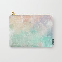 Colorful Marble Pattern Carry-All Pouch
