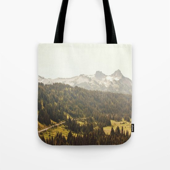 Road through the Mountains Tote Bag