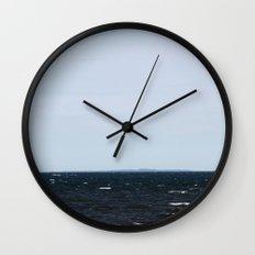 A Distant Long Island Wall Clock