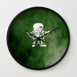 Undertale Sans (Megalovania) Wall Clock