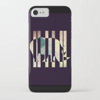 rhino iPhone & iPod Cases featuring Rhino by Yasmina Baggili