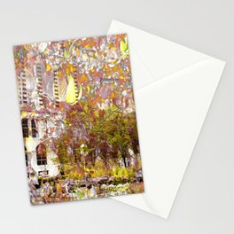 """Summer Color In Millennium Park 2"" Stationery Cards"