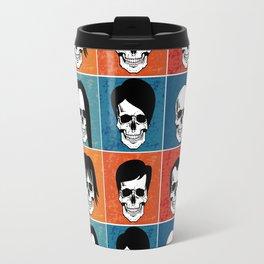 Hairstyles for Skulls Travel Mug