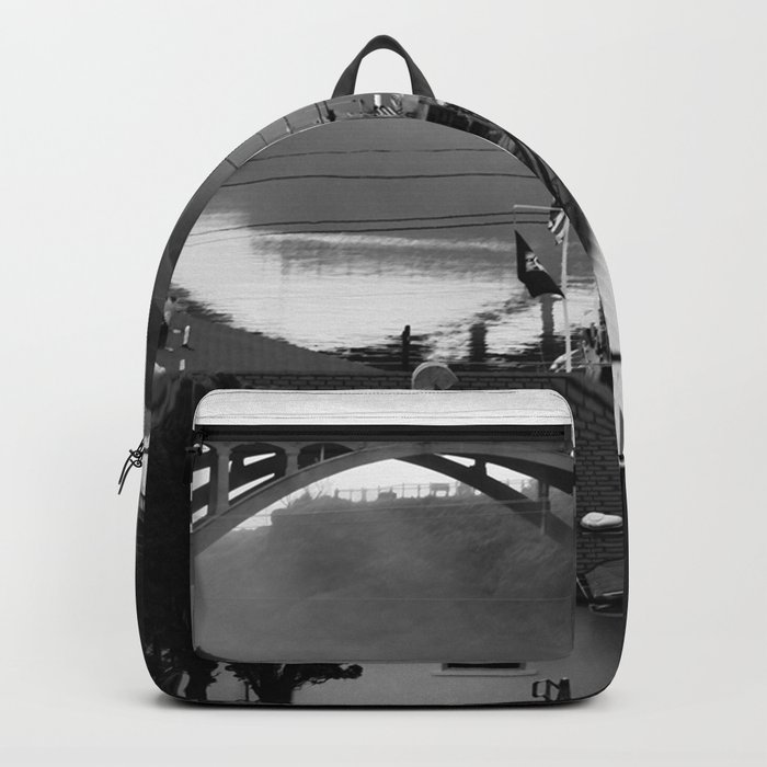 The Smallest Harbor in the World Backpack