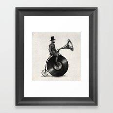 Music Man (monochrome option) Framed Art Print
