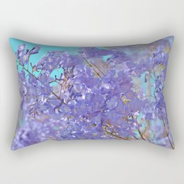 Purple and Blue Party! Rectangular Pillow