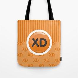 Orange Writer's Mood Tote Bag