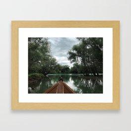 Lake Skadar, Montenegro Framed Art Print