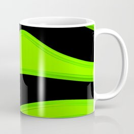 Hot Wavy E Coffee Mug