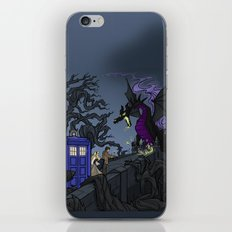 And Now You Will Deal with ME, O' Doctor iPhone Skin