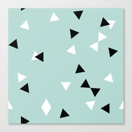 Simple Geometry / Triangles Canvas Print