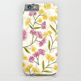 Yellow roses #04 iPhone Case