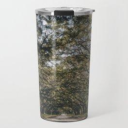 Wormsloe Live Oak Avenue - Savannah II Travel Mug