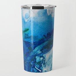 Deep Blue Ocean Life Travel Mug