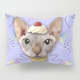 SPHYNX CAT ICE CREAM Pillow Sham
