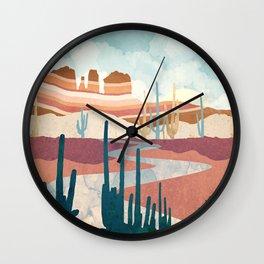 Desert Vista Wall Clock