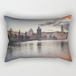 Prague Towers Rectangular Pillow